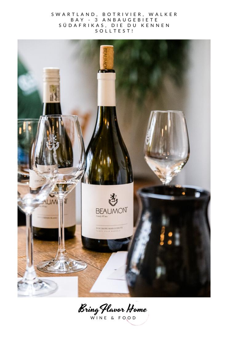 Weingut Beaumont Weinanbaugebiet Bot Rivier
