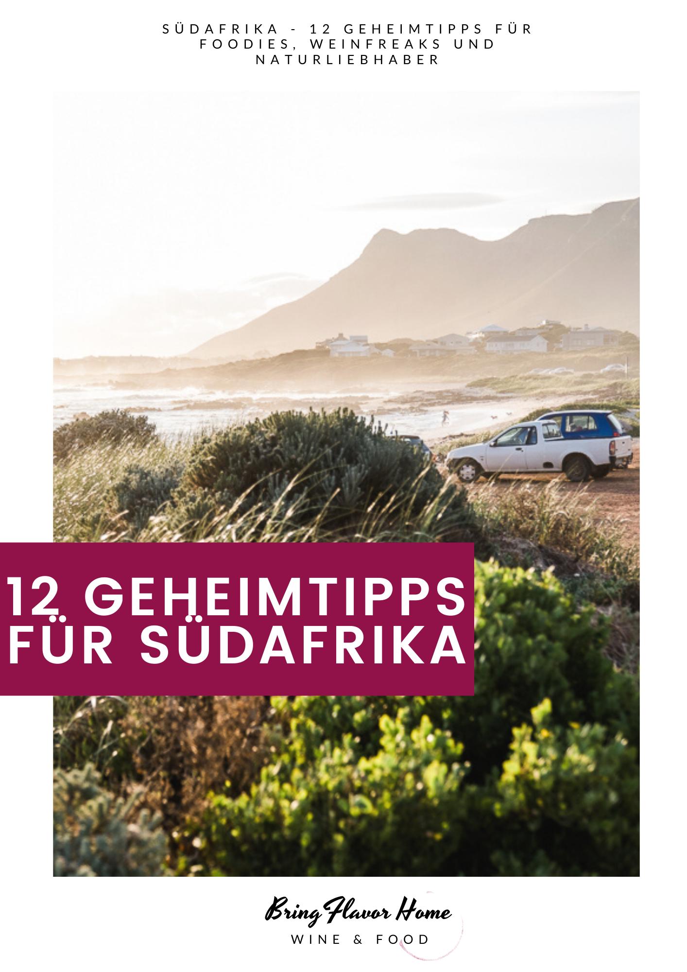 Tipps für Südafrika und Kapstadt