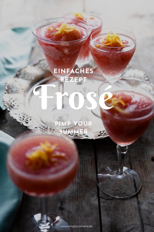 Rezept für Frosé