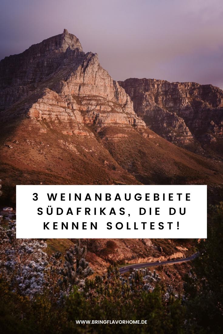 weinanbaugebiete Südafrika